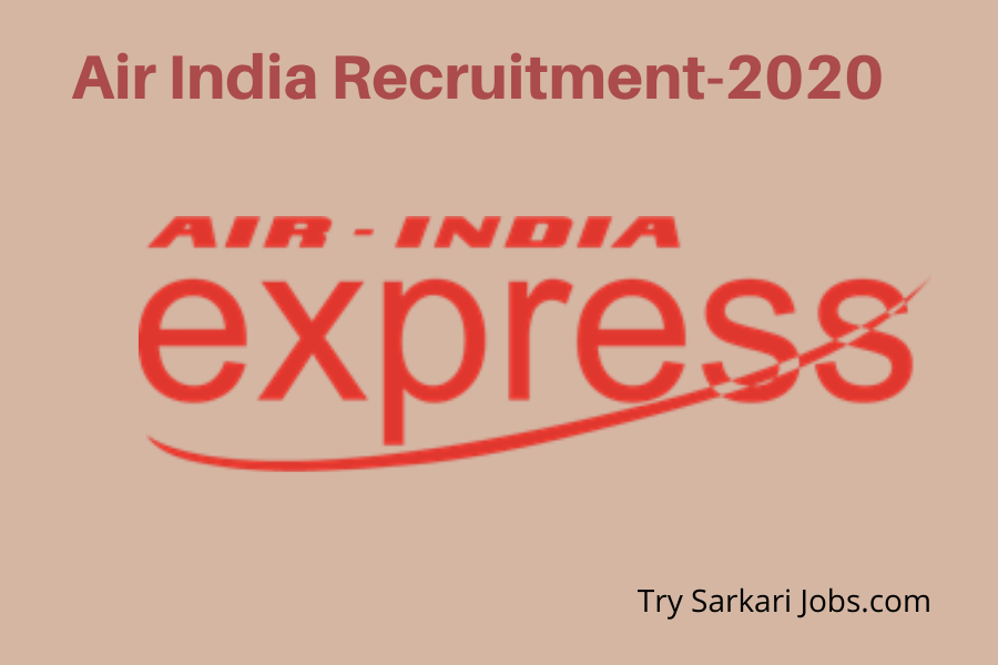 Air India Recruitment 2021