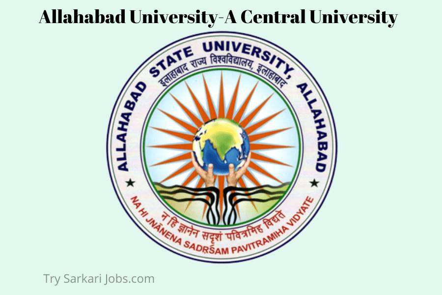 Allahabad University Recruitment VC