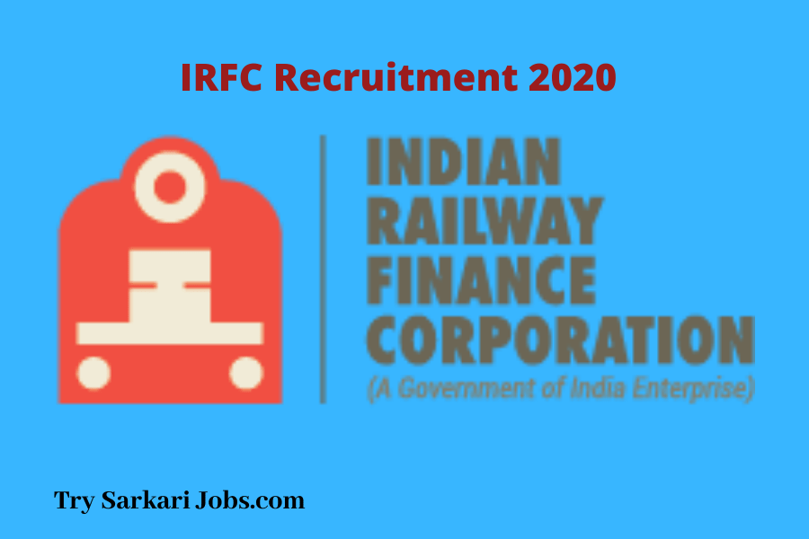 Recruitment in IRFC-2020