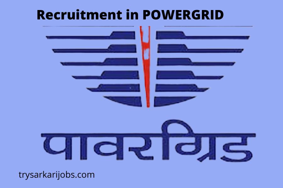 Recruitment in POWERGRID-110 AET