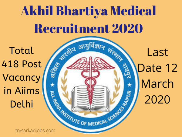 Akhil Bhartiya Medical Recruitment