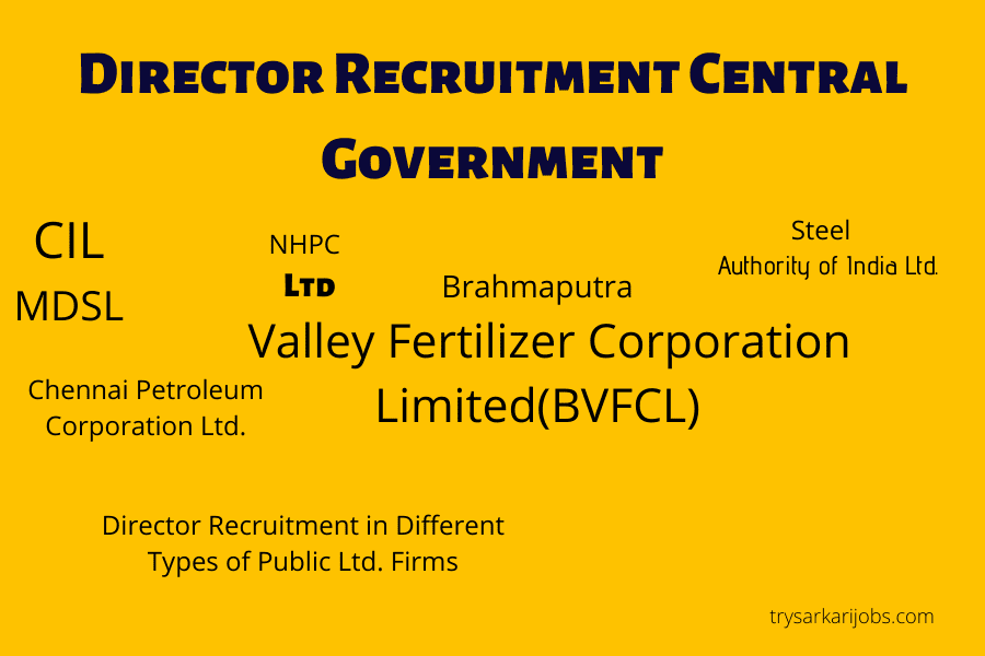 Director of Recruitment Central Government