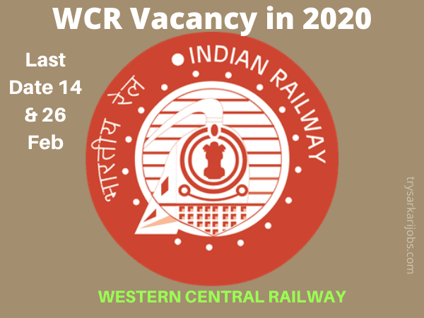 WCR Vacancy in 2020