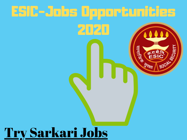 Senior Residents-ESIC Jobs MS-MD