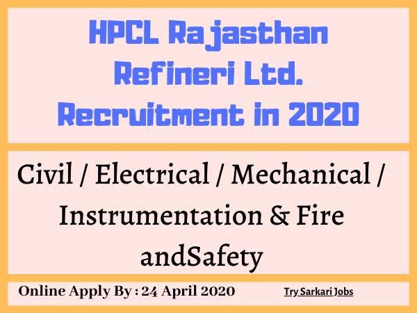 HPCL Careers Engineering  HRRL