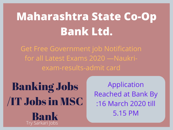 IT Jobs in Maharashtra-Bank