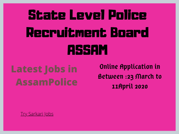 Latest Jobs in AssamPolice