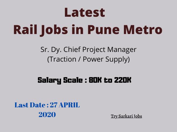 Latest Rail Jobs in
