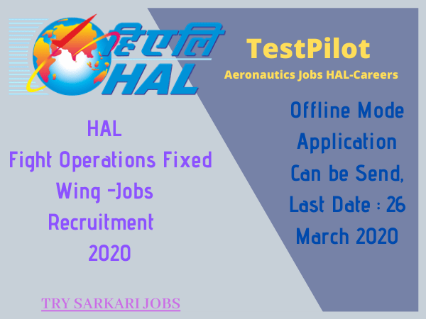 TestPilot Aeronautics Jobs HAL-Careers