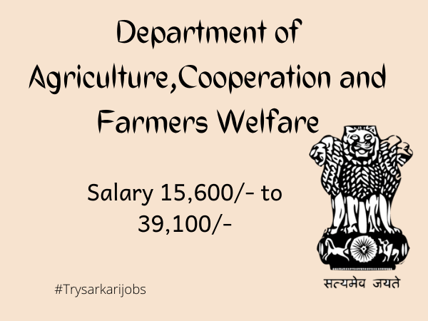 Department of Agriculture Cooperation