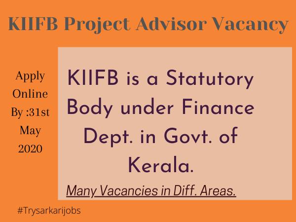 KIIFB Project Advisor Vacancy