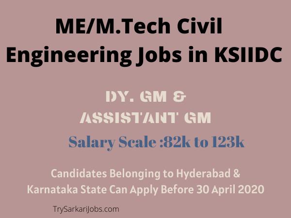 ME_M.Tech Civil Engineering Jobs