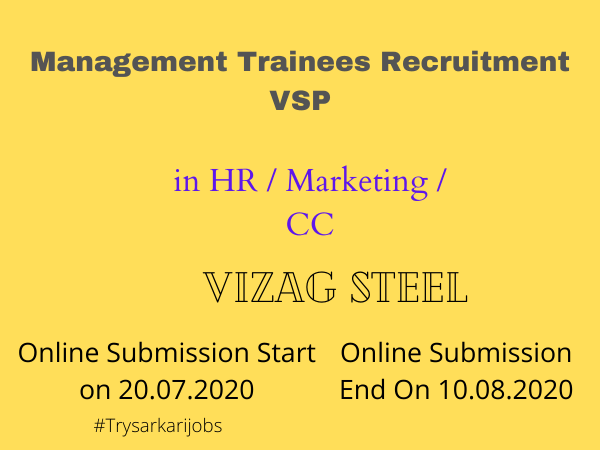 Management Trainees Recruitment VSP