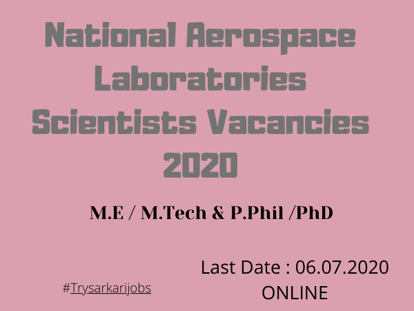 National Aerospace Laboratories Scientists