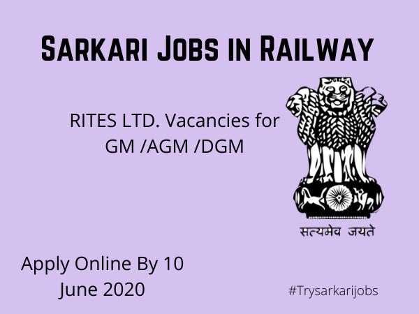 Sarkari Jobs in Railway