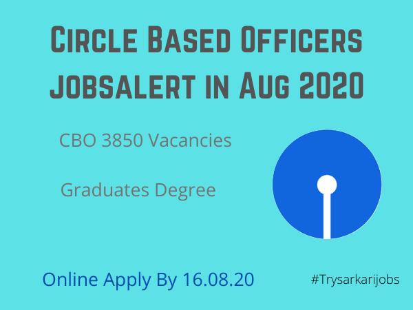 Circle Based Officers jobsalert