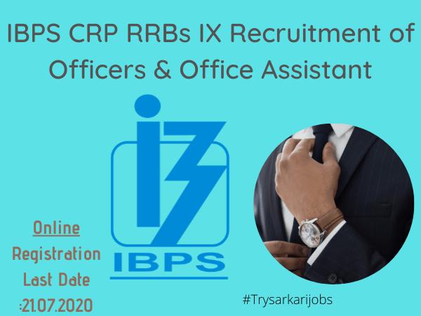 IBPS CRP RRBs IX