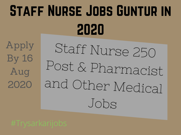 Staff Nurse Jobs Guntur
