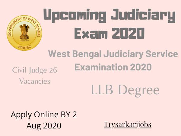 Upcoming Judiciary Exam 2020