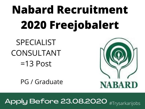 Sarkari Bank Jobs Nabard 2021