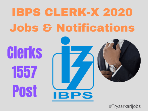 IBPS CLERK-X 2020 Jobs & Notifications