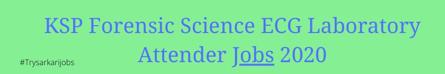 KSP Forensic Science Jobs