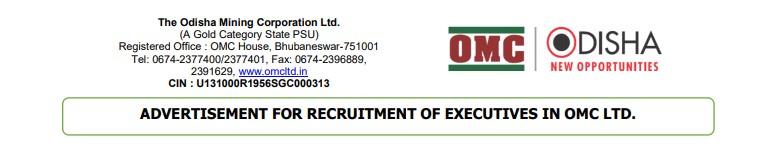 OMC Odisha Mining Jobs