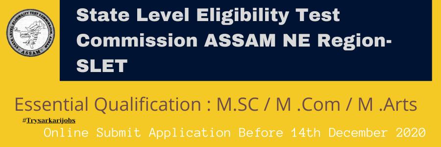 State Level Eligibility Test