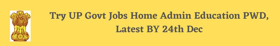 Try UP Govt Jobs