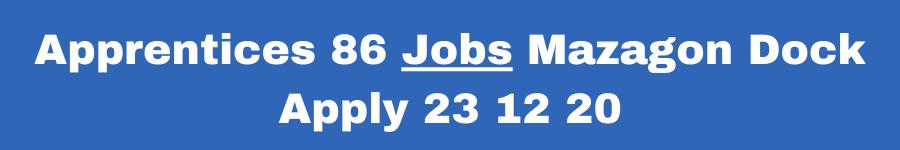Mazagon Dock Apprentices Jobs Notification