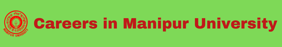 Careers in Manipur University