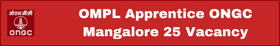 OMPL Apprentice ONGC Mangalore