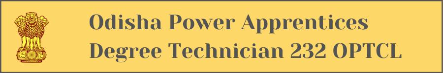 Odisha Power Apprentices Degree Technician