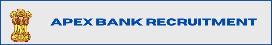 APEXBANK Officers Bharti 2021