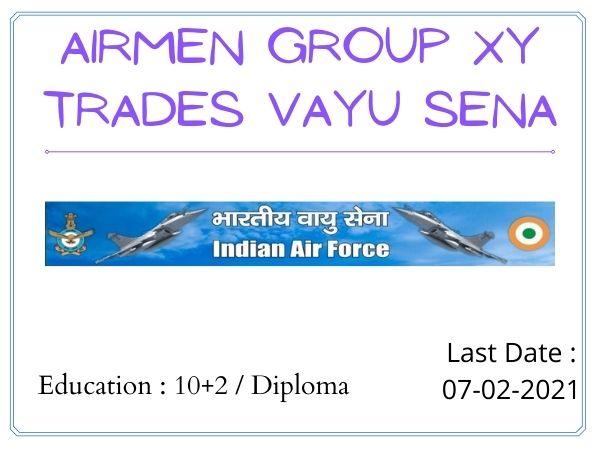 Airmen Group XY Trades