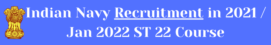 IndianNavy SSC Officers IT JOBS 2021