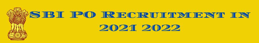 SBI PO 2021 Exam Date